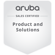 HPE Sales Certified - Aruba Products and Solutions